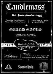 candlemass 20 ans ticket