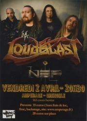 Loudblast flyer