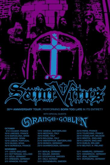 Saint Vitus 30th anniversary