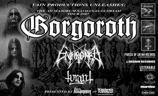 Tour gorgoroth tyrant